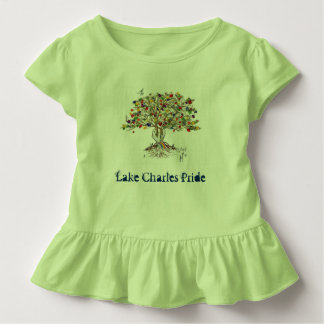 LC Pride Toddler Ruffle Tee (tree/green)