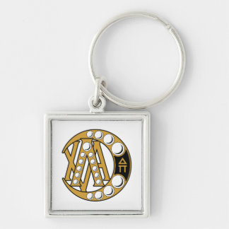 LCA Badge Gold Keychains