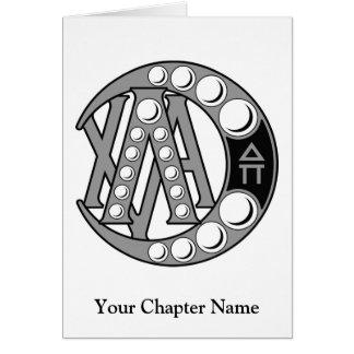 LCA Badge Gray Greeting Cards