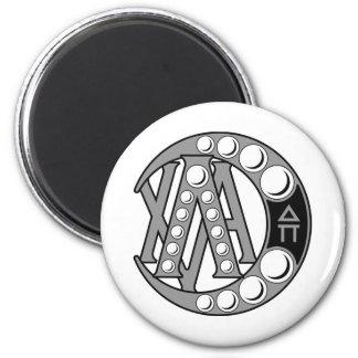 LCA Badge Gray 2 Inch Round Magnet