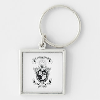 LCA Coat of Arms B+W Keychains