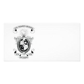 LCA Coat of Arms B+W Custom Photo Card