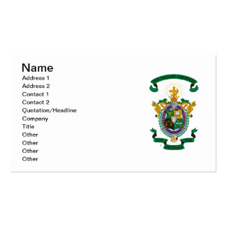 LCA Coat of Arms Color Business Card