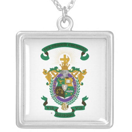 LCA Coat of Arms Color Pendant