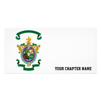 LCA Coat of Arms Color Photo Greeting Card