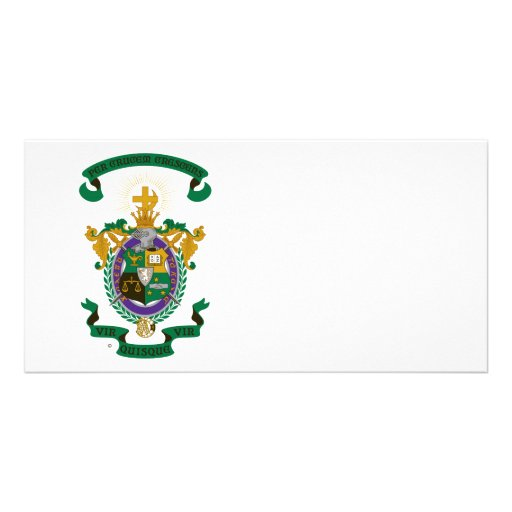 LCA Coat of Arms Color Picture Card
