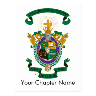 LCA Coat of Arms Color Postcard
