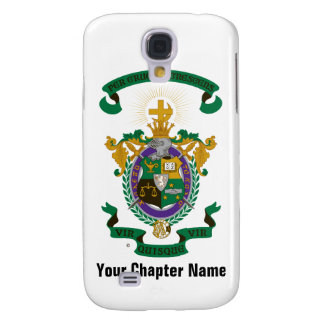 LCA Coat of Arms Color Samsung Galaxy S4 Covers