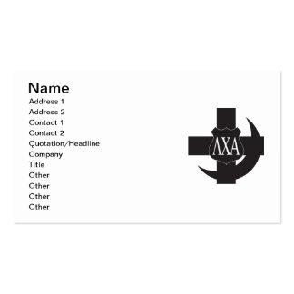 LCA Friendship Pin B+W Business Card