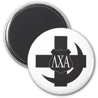 LCA Friendship Pin B+W 2 Inch Round Magnet