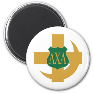 LCA Friendship Pin Color 2 Inch Round Magnet