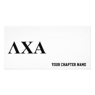 LCA Letters Custom Photo Card