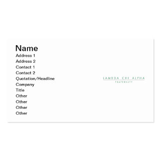 LCA Lock-Up Color Business Card