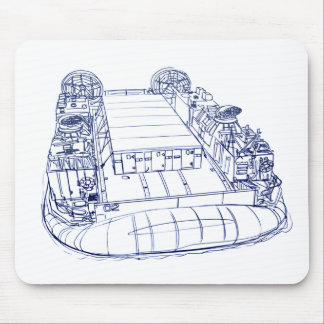 LCAC 11 hovercraft Mouse Pad