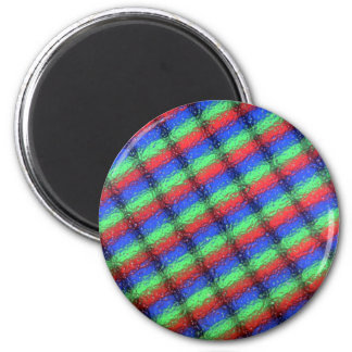 LCD microstructure 2 Inch Round Magnet