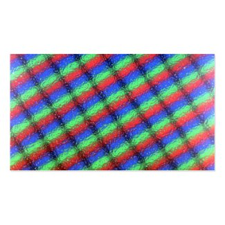 lcd microstructure Double-Sided standard business cards (Pack of 100)