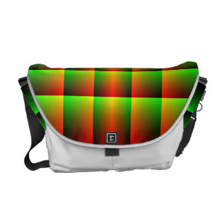 LCD Plaid Courier Bag