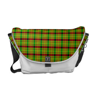 LCD plaid Courier Bags