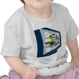 LCD Plasma TV Television Test Pattern T-shirts