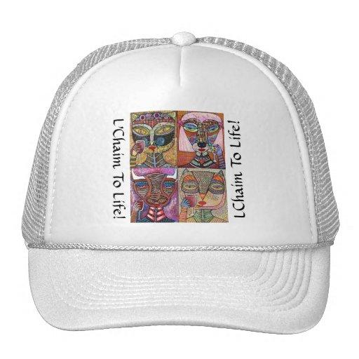 L'Chaim To Life! Trucker Hat