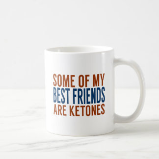 LCHF Mug: Best Friends Are Ketones Classic White Coffee Mug
