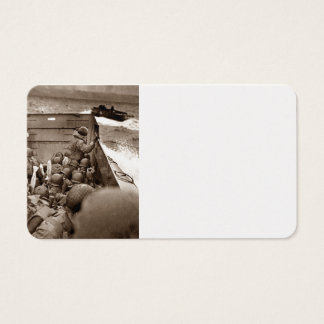 LCI Bringing Infantry to Shore Business Card