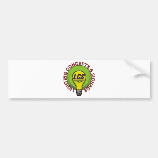 LCS Logo Items Bumper Sticker