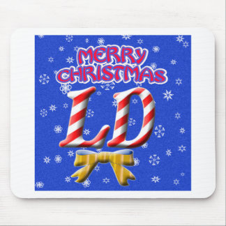 LD MERRY CHRISTMAS - LICENSED DIETITIAN MOUSE PAD