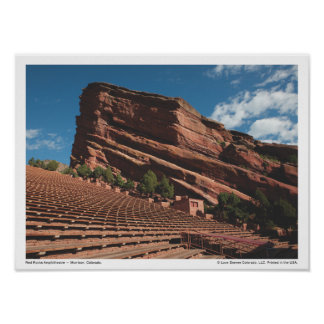 LDC Red Rocks Amphitheatre Poster