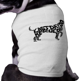LDDR doggy shape tank Shirt