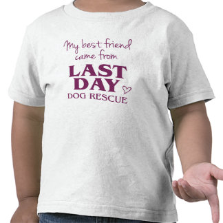 LDDR mi camisa del niño de BFF