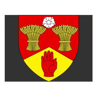 Lderry arms Ireland Post Card