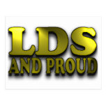 LDS and Proud Postcard