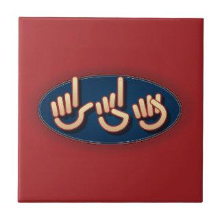 LDS en el ASL. teja roja