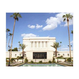 lds mesa arizona temple mormon picture canvas print