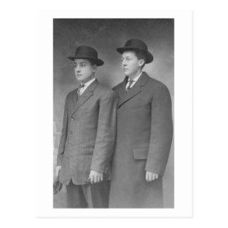 LDS Missionaries Postcard