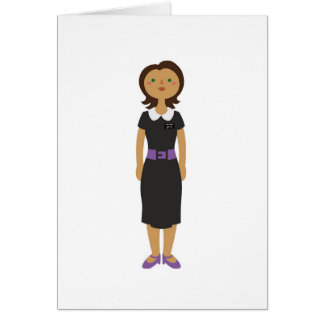 LDS Missionaries Sister Card