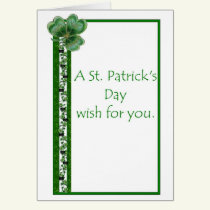LDS Missionary St Patrick's Day Card