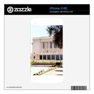 lds mormon mesa arizona temple picture skin for the iPhone 4