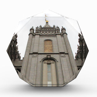 LDS Mormon Salt Lake City Temple photograph Acrylic Award