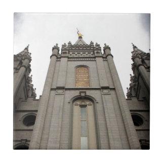 LDS Mormon Salt Lake City Temple photograph Ceramic Tile