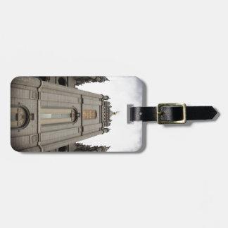 LDS Mormon Salt Lake City Temple photograph Luggage Tag