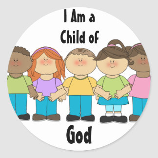 LDS Primary Stickers - I Am a Child of God