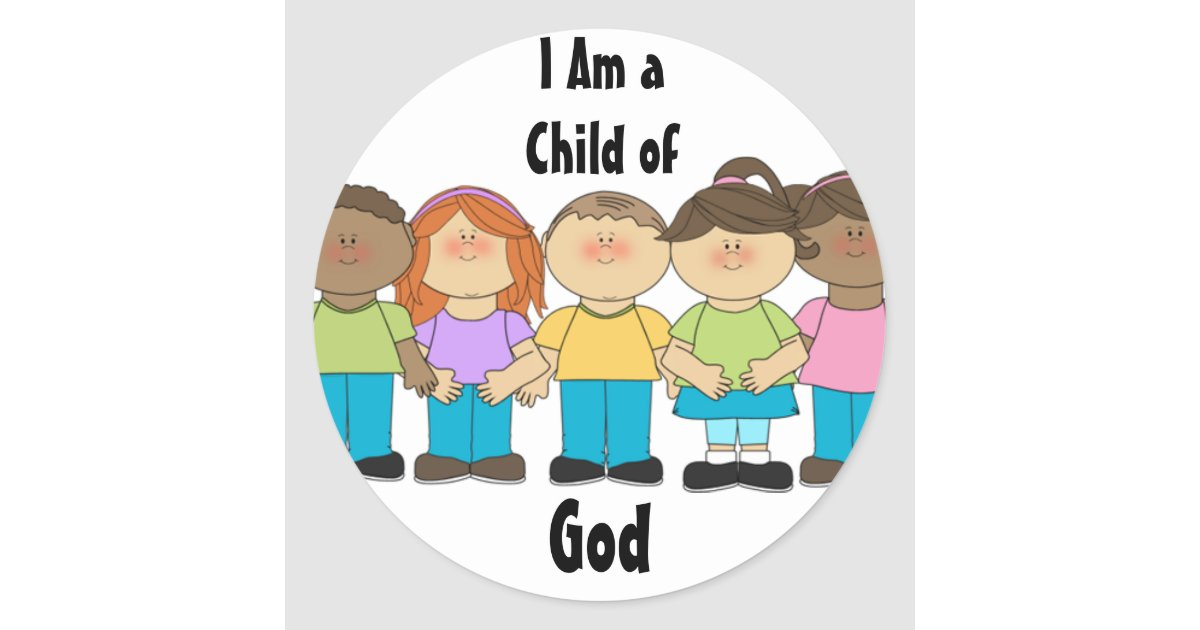 LDS Primary Stickers - I Am a Child of God | Zazzle