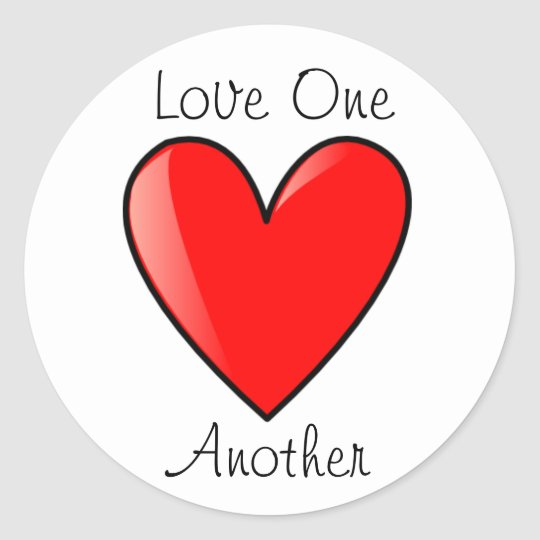 Love One Another: LDS Primary Stickers - Love One Another