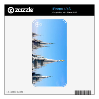 lds salt lake city temple angel moroni decals for the iPhone 4S