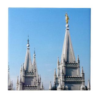lds salt lake city temple angel moroni tile