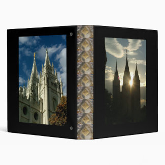 LDS Temple 3 Ring Binder