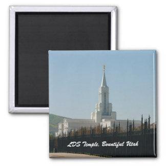 LDS Temple, Bountiful Utah Magnet