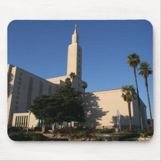 LDS Temple - Los Angeles, CA Mouse Pad